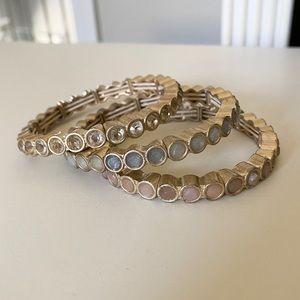 🌸3/$25 J. Crew Set of Stackable Bracelets